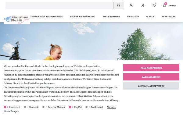 Vorschau von www.kinderhaus-blaubaer.de, Kinderhaus Blaubär GmbH & Co. KG