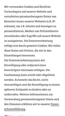 Vorschau der mobilen Webseite www.kinderhaus-blaubaer.de, Kinderhaus Blaubär GmbH & Co. KG