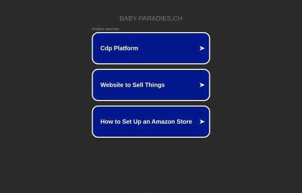 Vorschau von www.baby-paradies.ch, Baby-Paradies AG