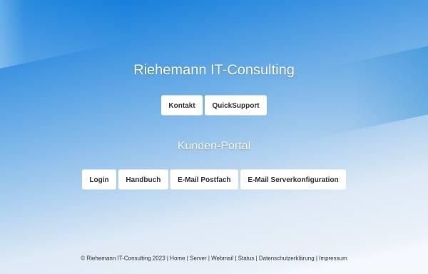Vorschau von www.larberg-riehemann.de, Larberg Riehemann IT-Consulting GbR