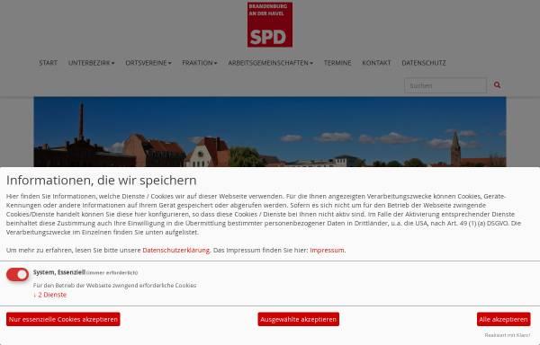 Vorschau von www.spd-stadt-brandenburg.de, SPD Brandenburg an der Havel