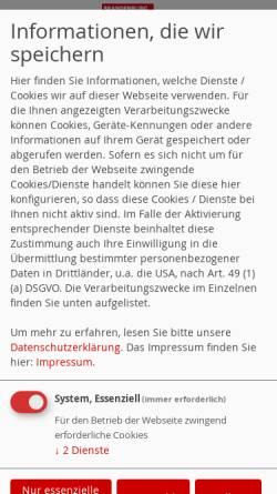 Vorschau der mobilen Webseite www.spd-stadt-brandenburg.de, SPD Brandenburg an der Havel