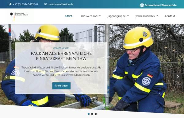 Vorschau von www.thw-eberswalde.de, Technisches Hilfswerk, Ortsverband Eberswalde (THW)