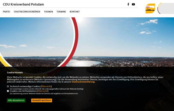 Vorschau von www.cdu-potsdam.de, CDU Potsdam