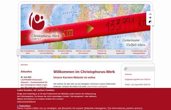 Vorschau von www.gemeinsam-vielfalt-leben.de, Christophorus-Werk Lingen e. V.