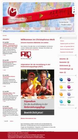 Vorschau der mobilen Webseite www.gemeinsam-vielfalt-leben.de, Christophorus-Werk Lingen e. V.