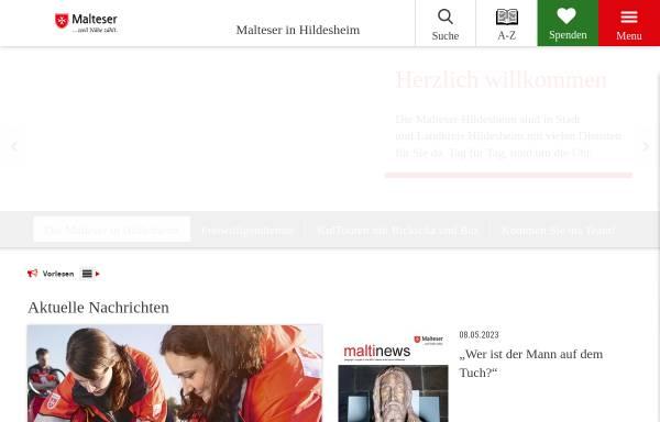 Vorschau von www.malteser-hildesheim.de, Malteser Hilfsdienst e.V., Stadtgeschäftsstelle Hildesheim