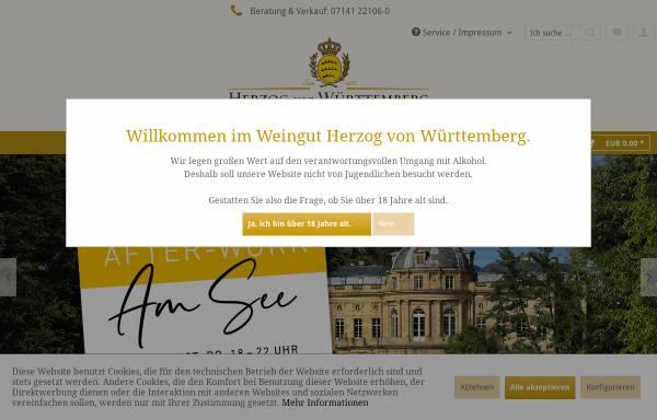 Vorschau von www.weingut-wuerttemberg.de, Weingut des Hauses Württemberg