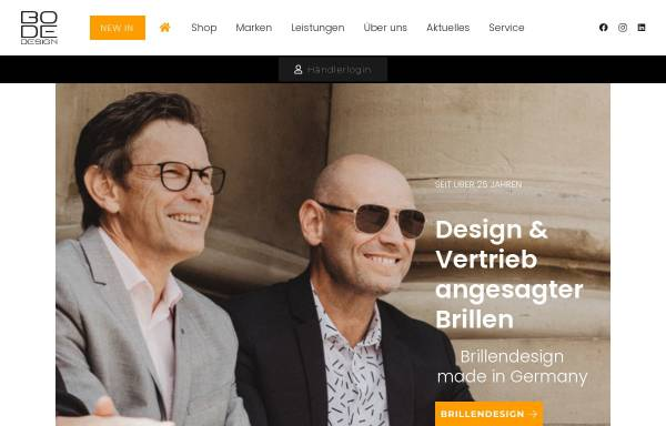 Vorschau von www.bode-design.de, BoDe Design Vertriebs-GmbH & Co. KG