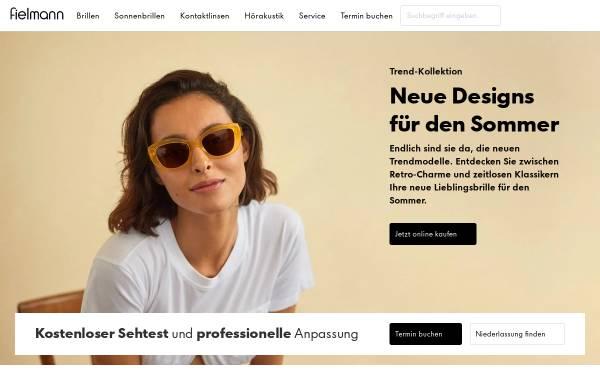 Vorschau von www.fielmann.de, Fielmann AG