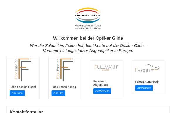 Vorschau von www.optiker-gilde.de, Optiker Gilde Handels- und Marketing GmbH