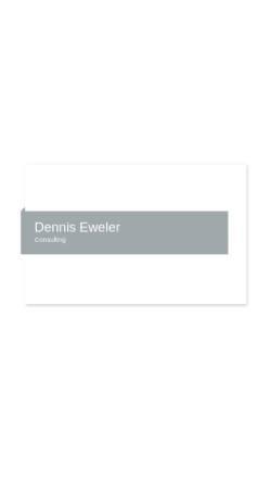 Vorschau der mobilen Webseite www.rettungssani.de, Dennis Eweler, Zivildienst beim Rettungsdienst