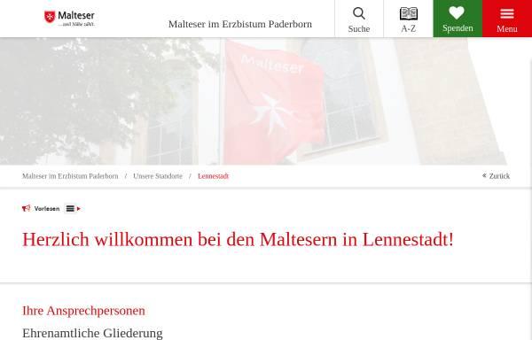 Vorschau von www.malteser-lennestadt.de, Malteser-Hilfsdienst e.V., Ortsgruppe Lennestadt-Oedingen