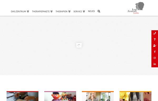 Vorschau von www.logozentrumlindlar.de, Logopädisches Reha-Zentrum