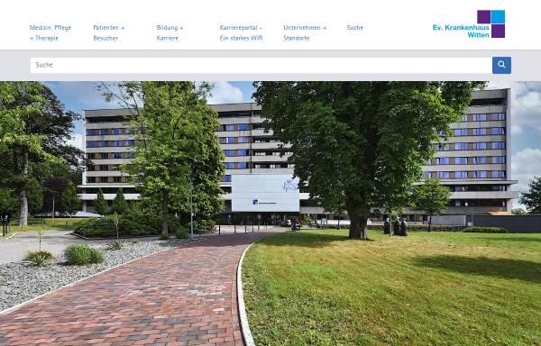 Vorschau von www.evk-witten.de, Evangelisches Krankenhaus Witten