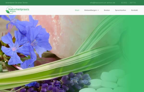 Vorschau von www.naturheilpraxis-witten.de, Institut für Hautkorrekturen