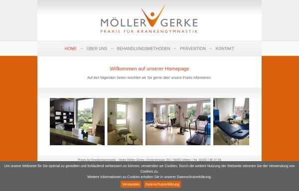 Vorschau von www.physiowitten.de, Physiotherapeutische Praxen Witten