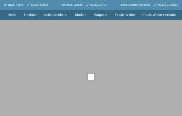 Vorschau von www.lungenfacharzt.de, Wittener Lungenfachärzte