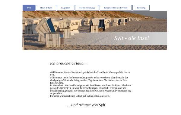 Vorschau von www.syltservice.de, Syltservice