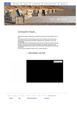 Vorschau der mobilen Webseite www.syltservice.de, Syltservice