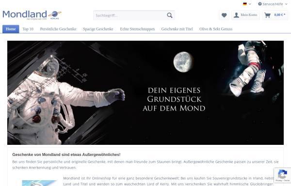 Vorschau von www.mondland.de, Mondland Verlag