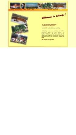 Vorschau der mobilen Webseite www.ferien-in-schierke.de, Ferienwohnung