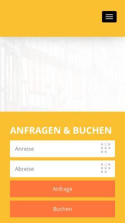 Vorschau der mobilen Webseite www.urlaub-wr.de, Ferienwohnungen am Markt
