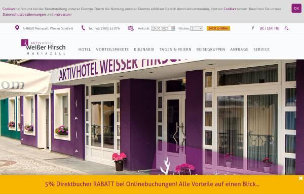Vorschau von www.weisser-hirsch.at, Hotel & Restaurant Weisser Hirsch