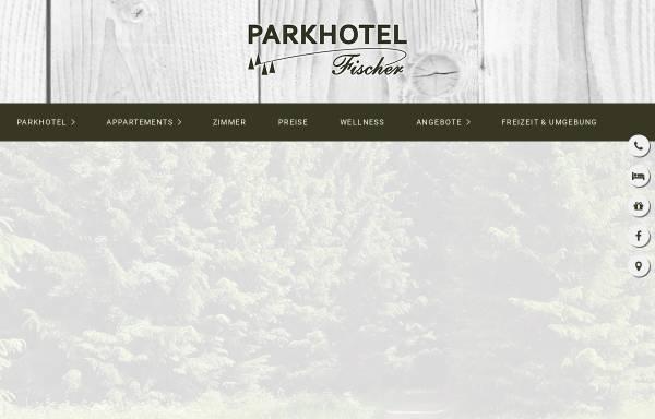 Vorschau von www.parkhotel-fischer.de, Parkhotel Fischer