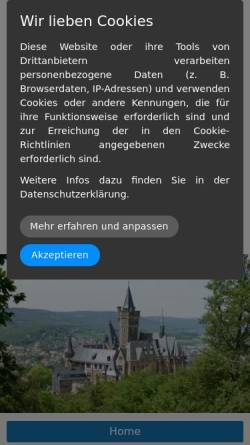 Vorschau der mobilen Webseite www.harztime.de, Patsch, Martina und Holger