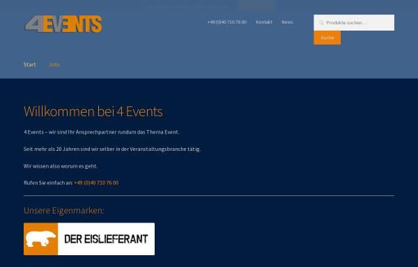 Vorschau von www.4-events.eu, 4-Events-United
