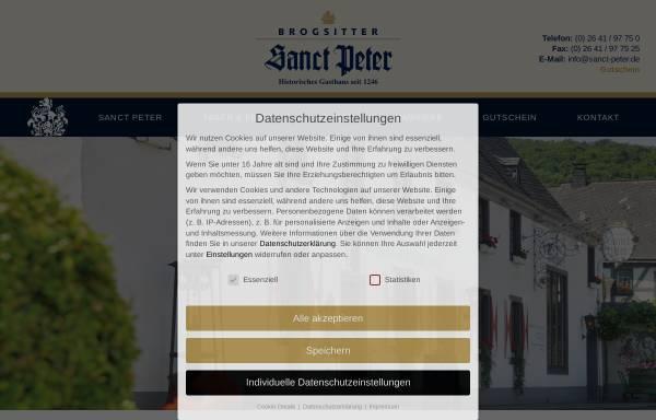 Vorschau von www.sanct-peter.de, Brogsitter's Sanct Peter GmbH