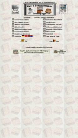Vorschau der mobilen Webseite www.schachcomputer.at, Kurts Schachcomputer Homepage