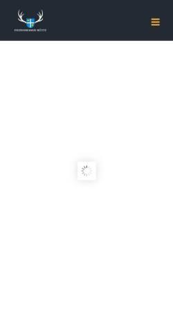 Vorschau der mobilen Webseite www.waldschenke-deidesheim.de, Waldschenke Deidesheim