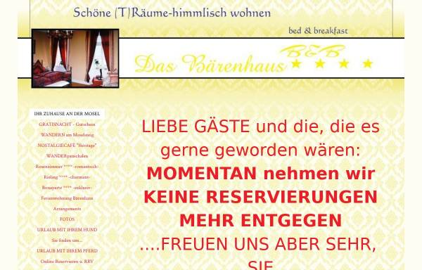 Vorschau von www.das-baerenhaus.de, Das Bärenhaus