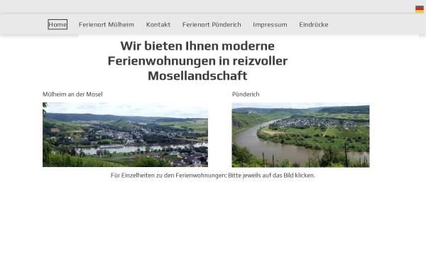 Vorschau von www.moselaner-ferienwohnung.de, Ferienwohnung Familie Esch