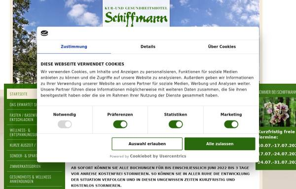 Vorschau von www.landhaus-schiffmann.de, Landhaus Schiffmann