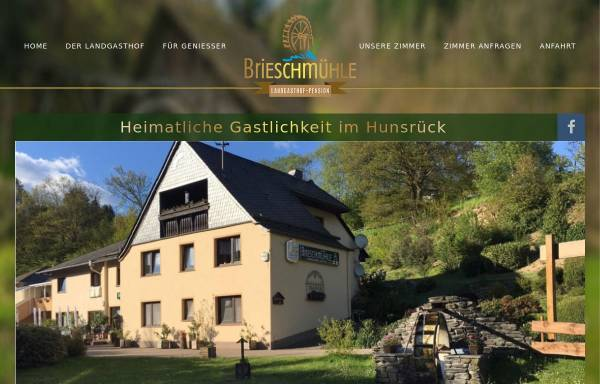Vorschau von www.brieschmuehle.de, Hotel-Pension