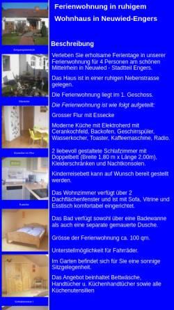 Vorschau der mobilen Webseite www.jobi-wambach.de, Ferienwohnung Gabi und Jobi Wambach