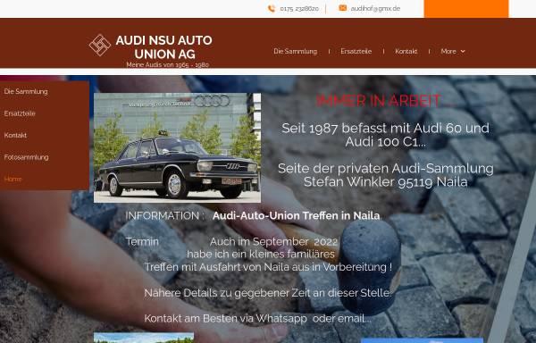 Vorschau von www.audi-classic.de, Audi Classic