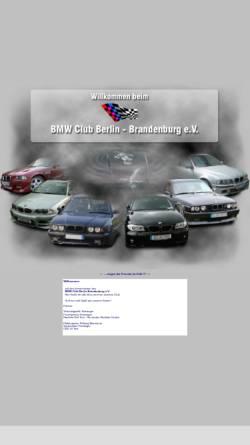 Vorschau der mobilen Webseite www.bmw-club-bb.de, BMW Club Berlin-Brandenburg e.V.
