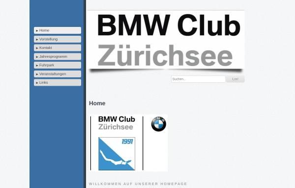 Vorschau von www.bmw-club-zuerichsee.ch, BMW Club Zuerichsee