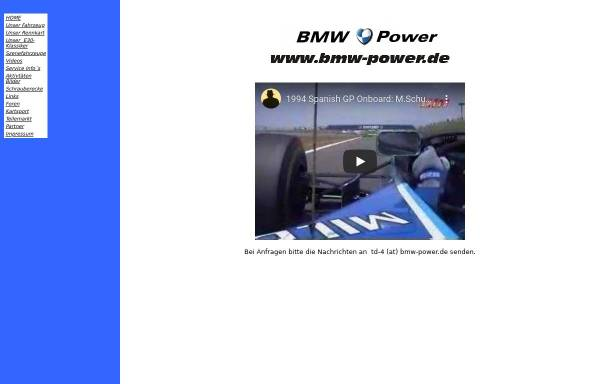 Vorschau von www.bmw-power.de, BMW-Power.de - BMW Club Bischofswerda e.V.