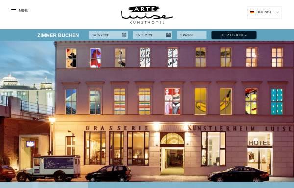 Vorschau von www.luise-berlin.com, Arte Luise Kunsthotel