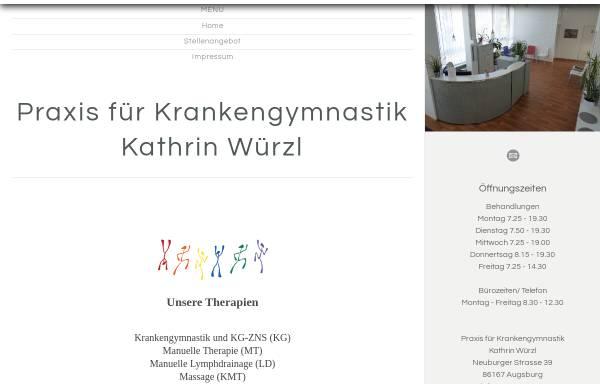 Vorschau von www.wuerzl-schmidt.de, Praxis für Krankengymnastik K .Würzl & C. Schmidt GbR