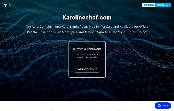 Vorschau von www.karolinenhof.com, Hotel -Pension Karolinenhof