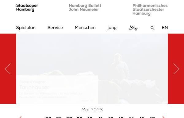 Vorschau von www.hamburgische-staatsoper.de, Hamburgische Staatsoper