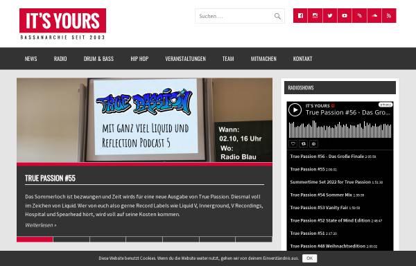Vorschau von www.itsyours.info, It's Yours!