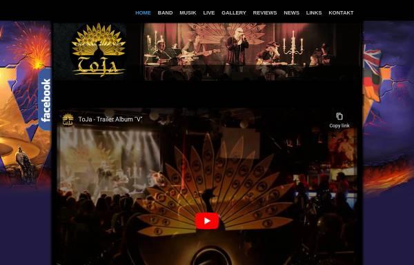 Vorschau von www.toja-rock.com, Toja Rock