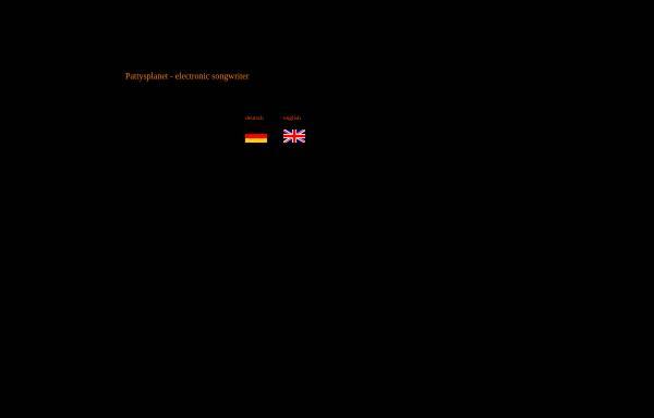 Vorschau von www.pattysplanet.de, Pattysplanet - Elektronische Musik mit Wärme